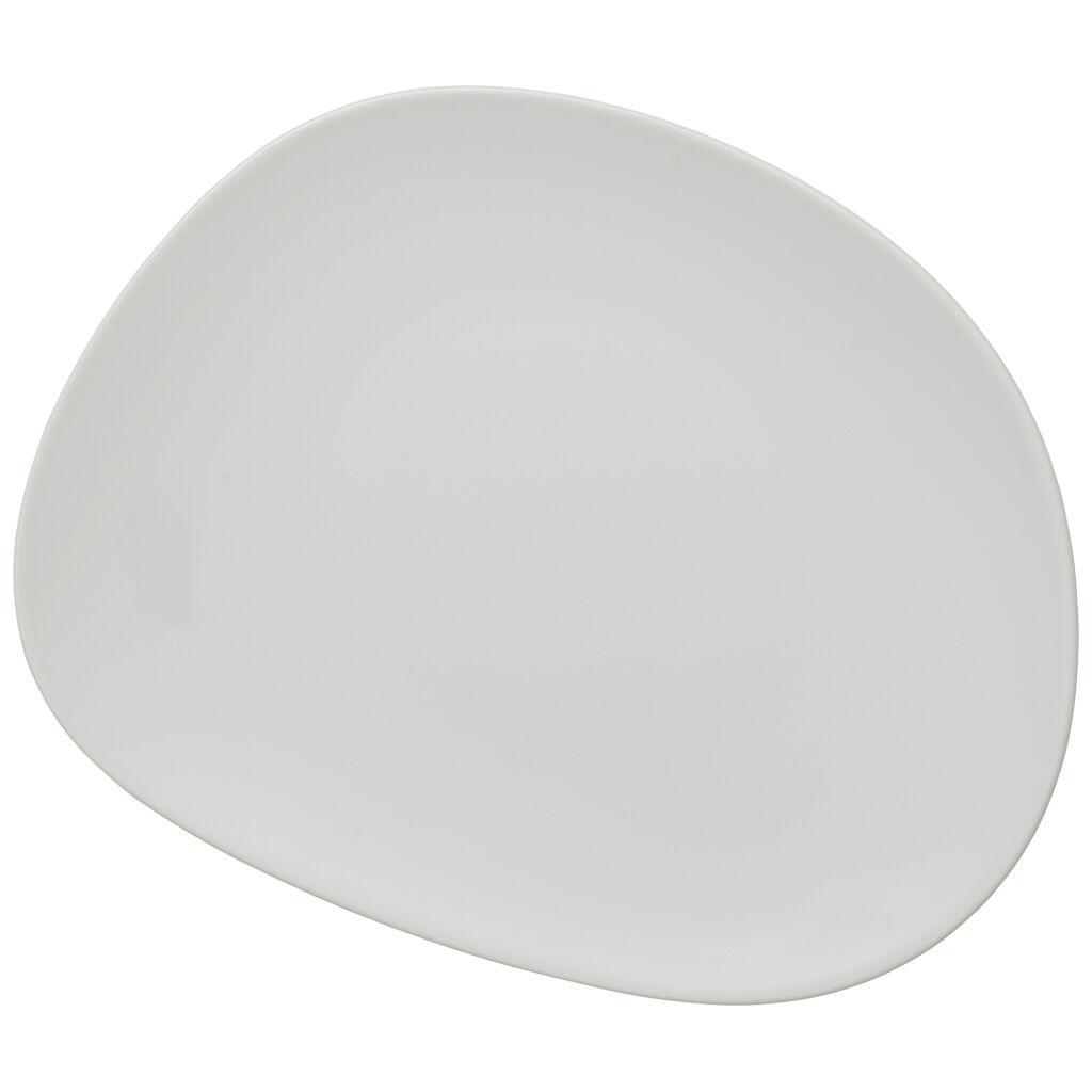 빌레로이 앤 보흐 오가닉 화이트 중접시 (샐러드 접시) Villeroy & Boch Organic White Salad Plate 8.25 in