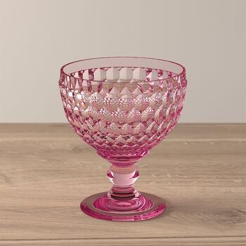 Boston Coloured Champagne/Dessert Bowl: Rose