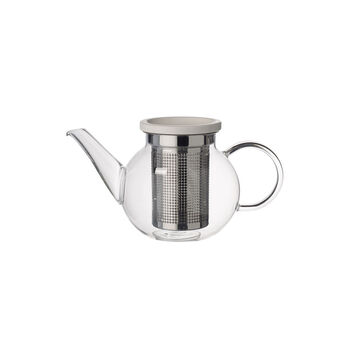 Artesano Hot & Cold Beverages Teapot with Strainer, Small