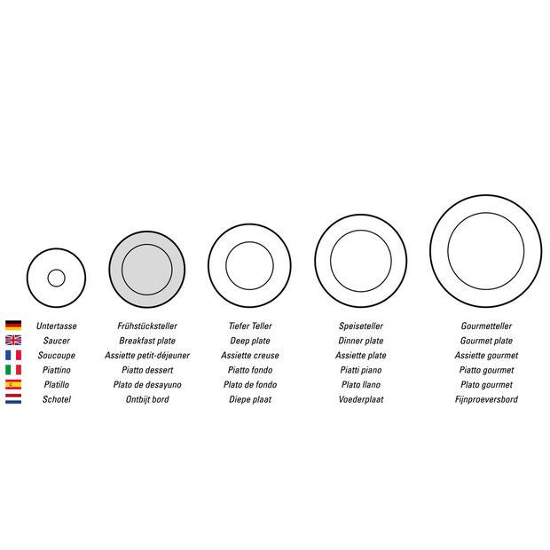 Design Naif Salad Plate #3 - Country Yard, , large