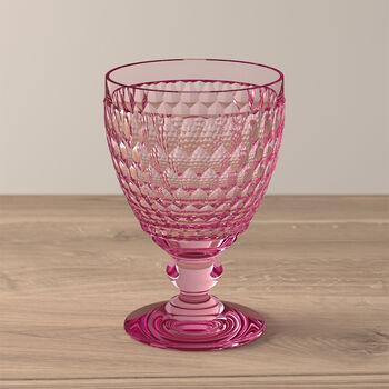 Boston Colored Goblet: Rose