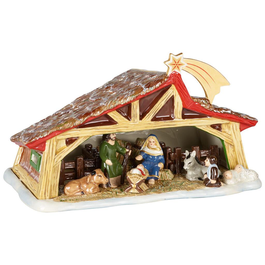 빌레로이 앤 보흐 '크리스마스 토이즈' 장식품 Villeroy & Boch Christmas Toys Memories Nativity 27x16x16cm