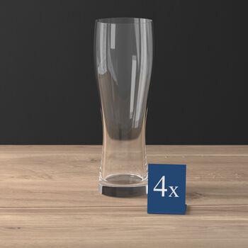 Purismo Beer Wheat Beer Goblet, Set of 4