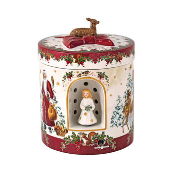 Christmas Toys Large Round Gift Box: Angel