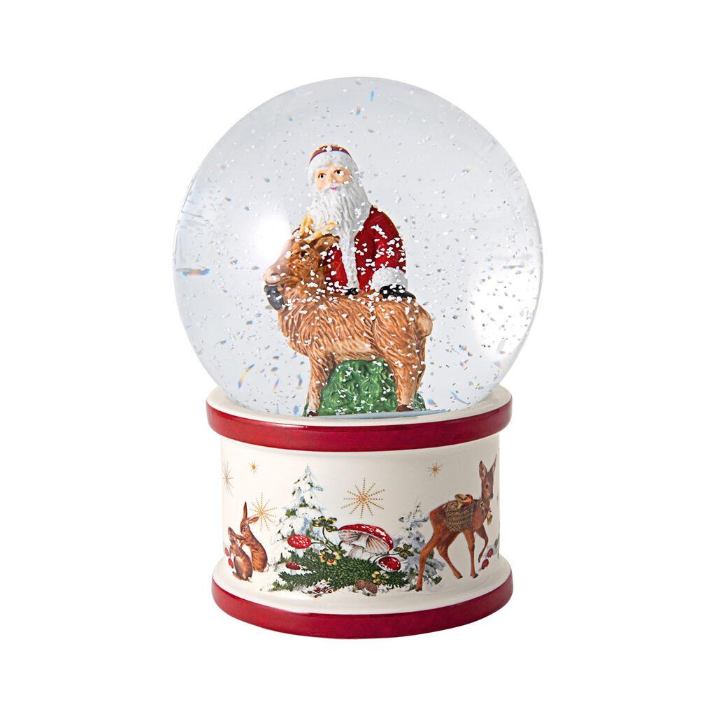 빌레로이 앤 보흐 '크리스마스 토이즈' 산타와 사슴 장식품 Villeroy & Boch Christmas Toys Snow globe large Santa and deer