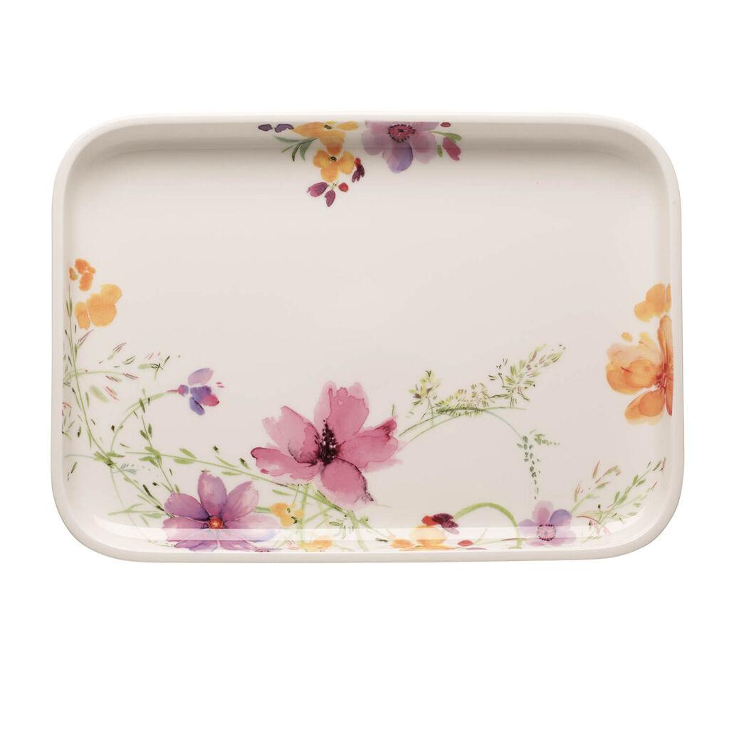 빌레로이 앤 보흐 마리플뢰르 서빙 접시 Villeroy & Boch Mariefleur Basic Baking Dishes Rectangular Serving Plate/Lid 14 in