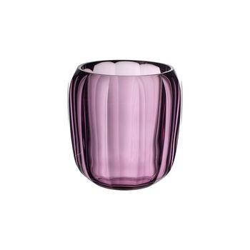 Coloured DeLight Hurricane Lamp/Small Vase: Noble Rose