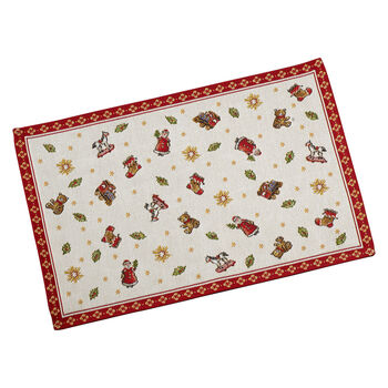 Toy's Delight Embroidered Placemat: Toys