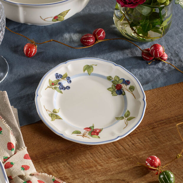 Cottage Appetizer/Dessert Plate, , large