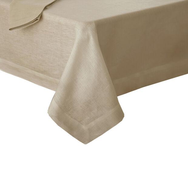 """La Classica Oblong Tablecloth: Natural, 70x126"""", , large"""