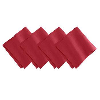La Classica Napkin: Red, Set of 4