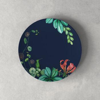 Avarua Salad Plate: Blue