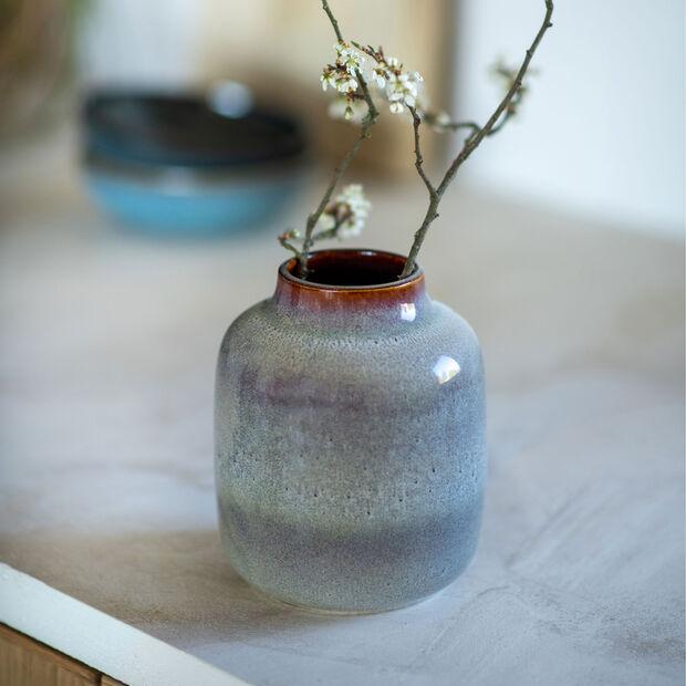 Lave Home Beige Nek Vase, Small, , large