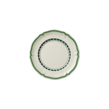 French Garden Green Line Appetizer/Dessert Plate