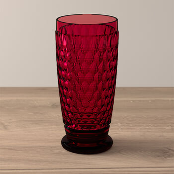 Boston Colored Highball: Red
