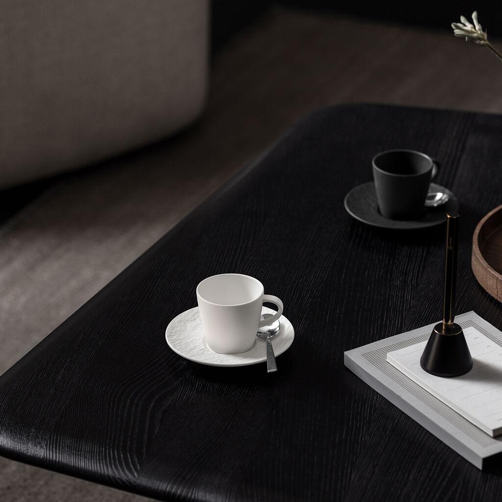 빌레로이 앤 보흐 에스프레소잔 Villeroy & Boch Manufacture Rock blanc Espresso cup