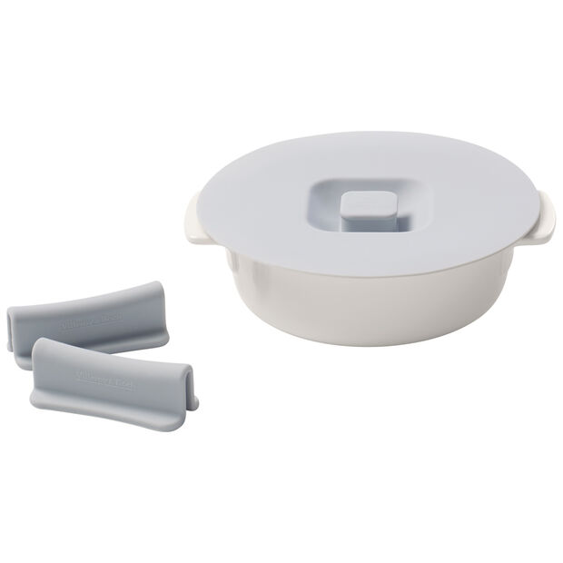Clever Cooking 4-piece round baking dish set 15 cm, , large