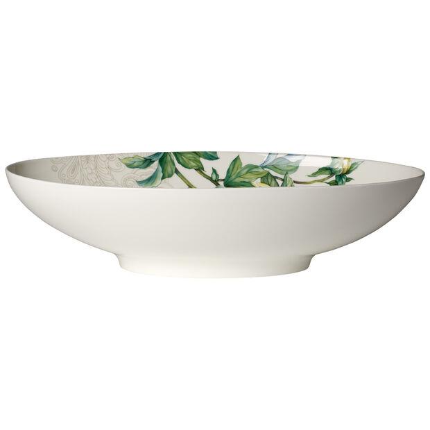Quinsai Garden oval bowl 38 x 22 cm, , large