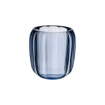 Coloured DeLight Hurricane Lamp/Small Vase: Winter Sky