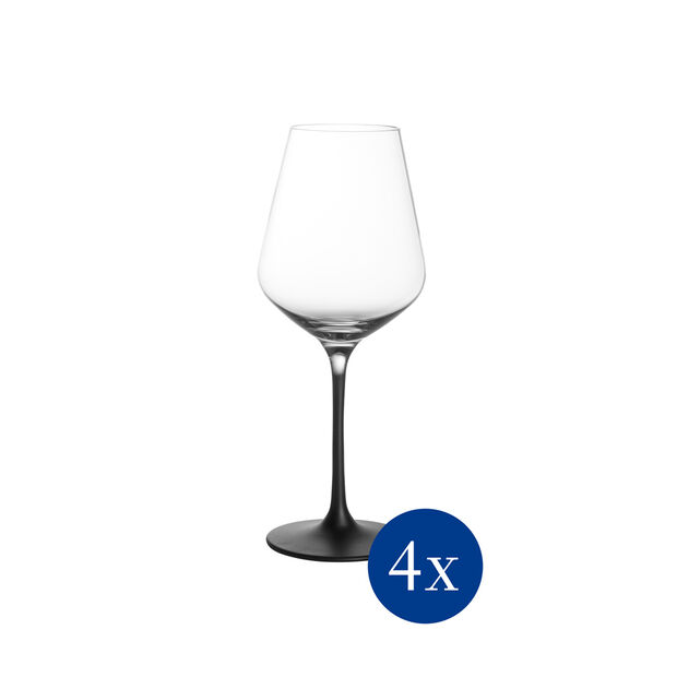 Manufacture Rock Stems White Wine Goblet, Set of 4, , large
