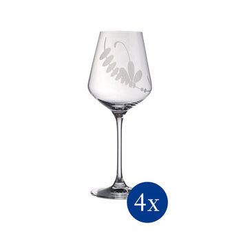 Old Luxembourg Brindille White Wine, Set of 4