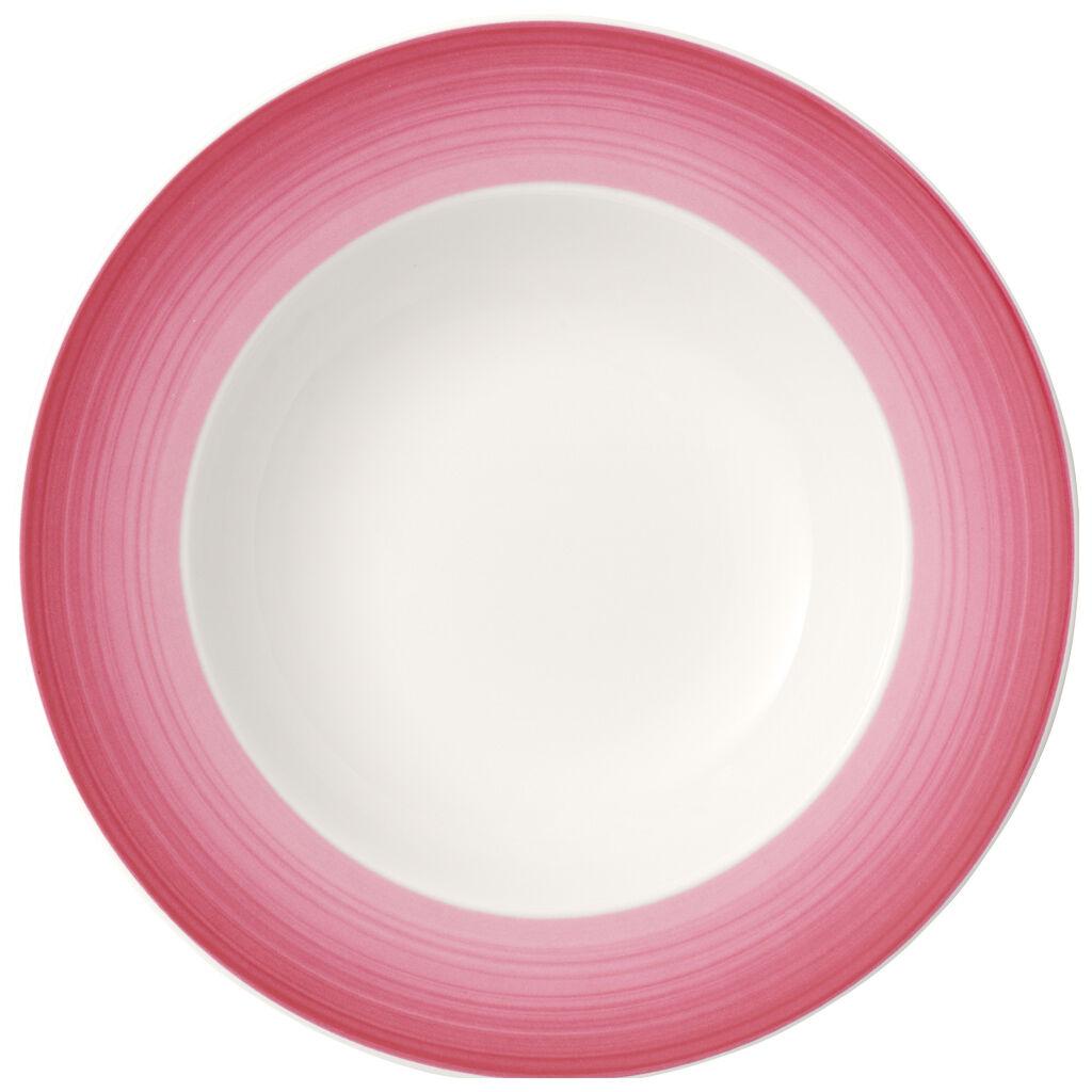 빌레로이 앤 보흐 컬러풀 라이프 수프 그릇 Villeroy & Boch Colorful Life Berry Fantasy Rim Soup 9.75 in