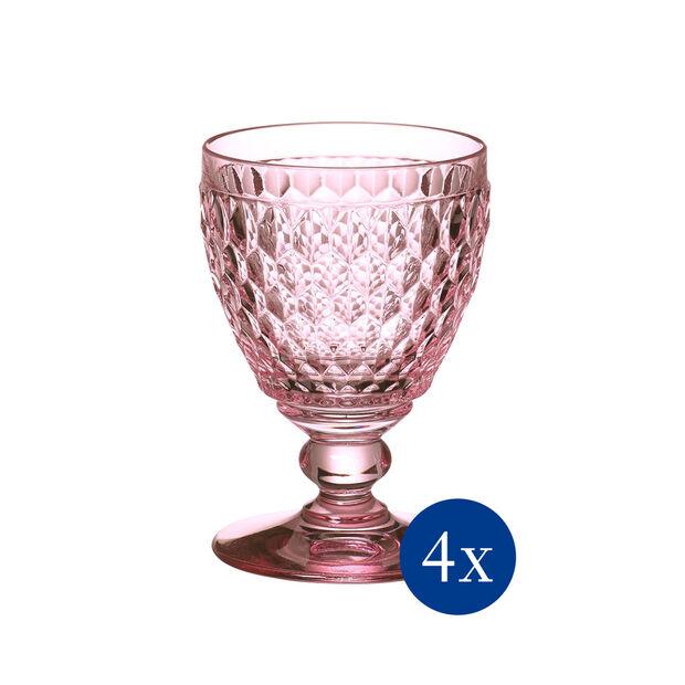 Boston Colored Claret: Rose, Set of 4, , large