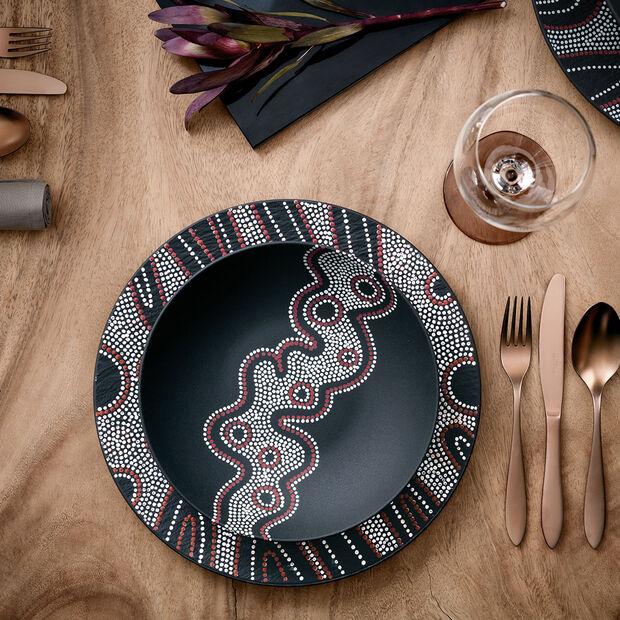 Manufacture Rock Desert Art Pasta Bowl, , large