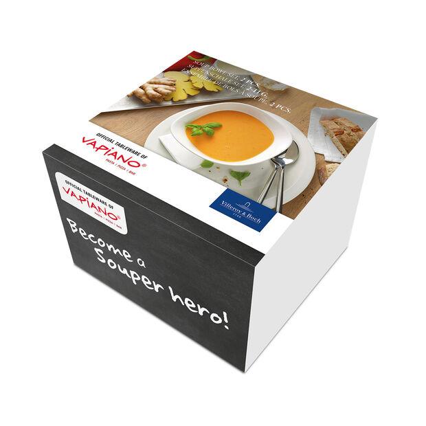 Vapiano Soup Bowl, Set of 2, , large