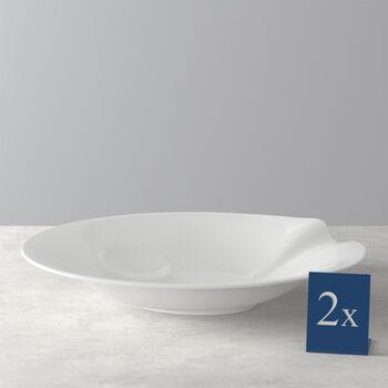 Pasta Passion Spaghetti Plate, Set of 2
