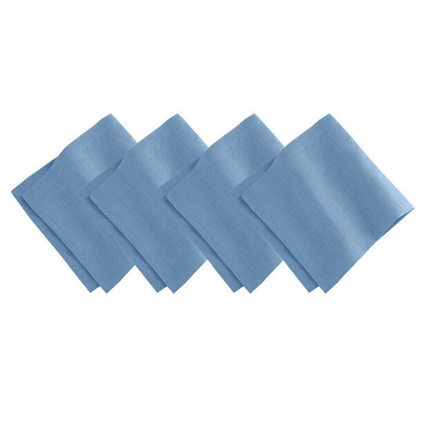 Denim Blue Dinner Napkin Set, , large