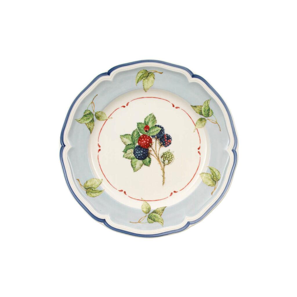 빌레로이 앤 보흐 코티지 샐러드 접시 Villeroy&Boch Cottage Blue Rim/Leaf Salad Plate 8 1/4 in