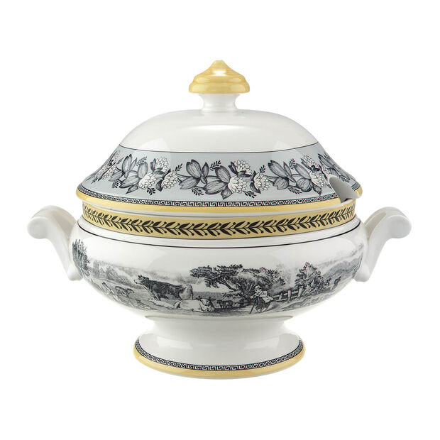 Audun Ferme Covered Bowl, , large
