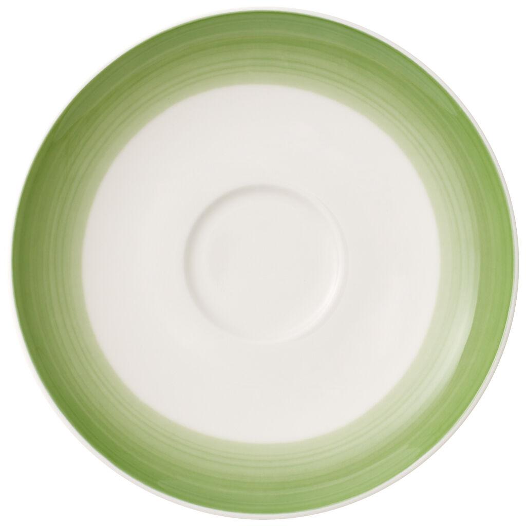 빌레로이 앤 보흐 컬러풀 라이프 티/커피잔 받침대 Villeroy & Boch Colorful Life Green Apple Tea/Coffee Cup Saucer