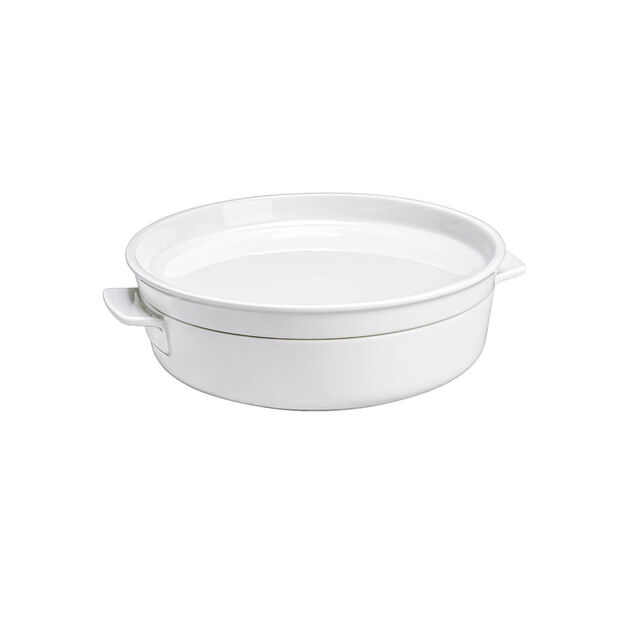 Clever Cooking 2 Piece Medium Round Baker & Lid, , large