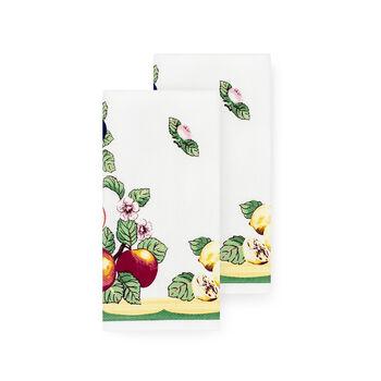French Garden Kitchen Towel, Set of 2