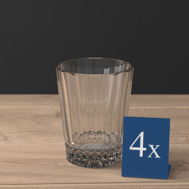 Opera Water Glass: Smoke, Set of 4, , large
