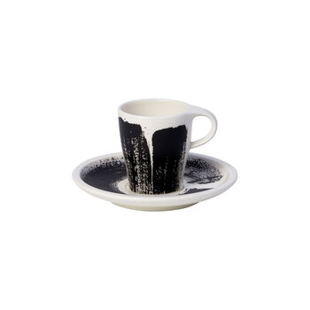 Coffee Passion Awake Espresso Cup & Saucer Set