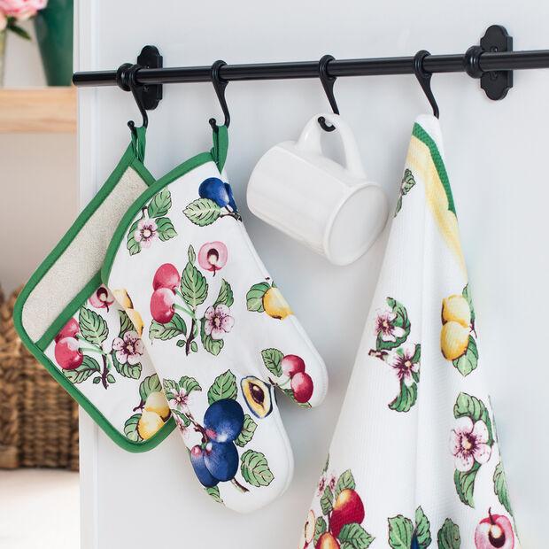 Elrene French Garden Kitchen Towel:Set of 2, , large