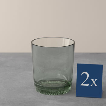 it's my match Water Glass: Mineral, Set of 2