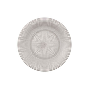 Color Loop Stone Salad Plate
