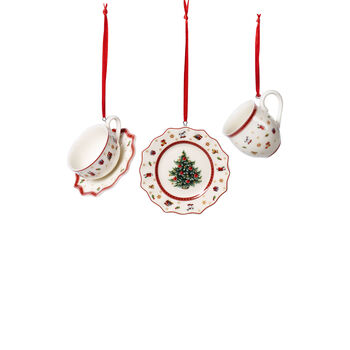 Toy's Delight Decoration Ornaments: Tableware, Set of 3