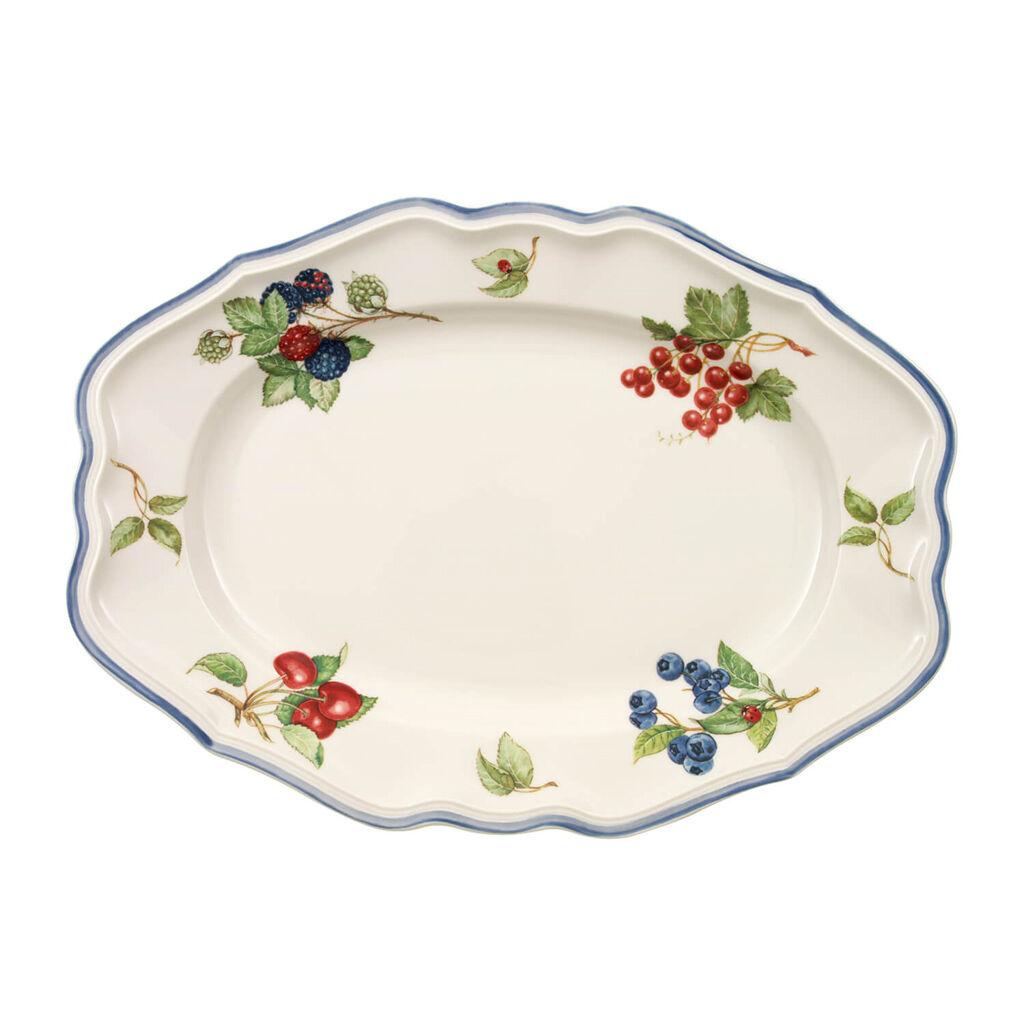 빌레로이 앤 보흐 코티지 오발 접시 Villeroy&Boch Cottage Oval Platter 14 1/2 in