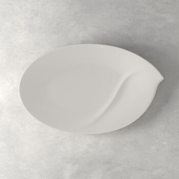 Flow Large Oval Platter