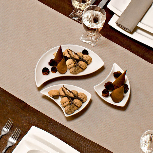 NewWave Triangle Appetizer/Dessert Plate, , large