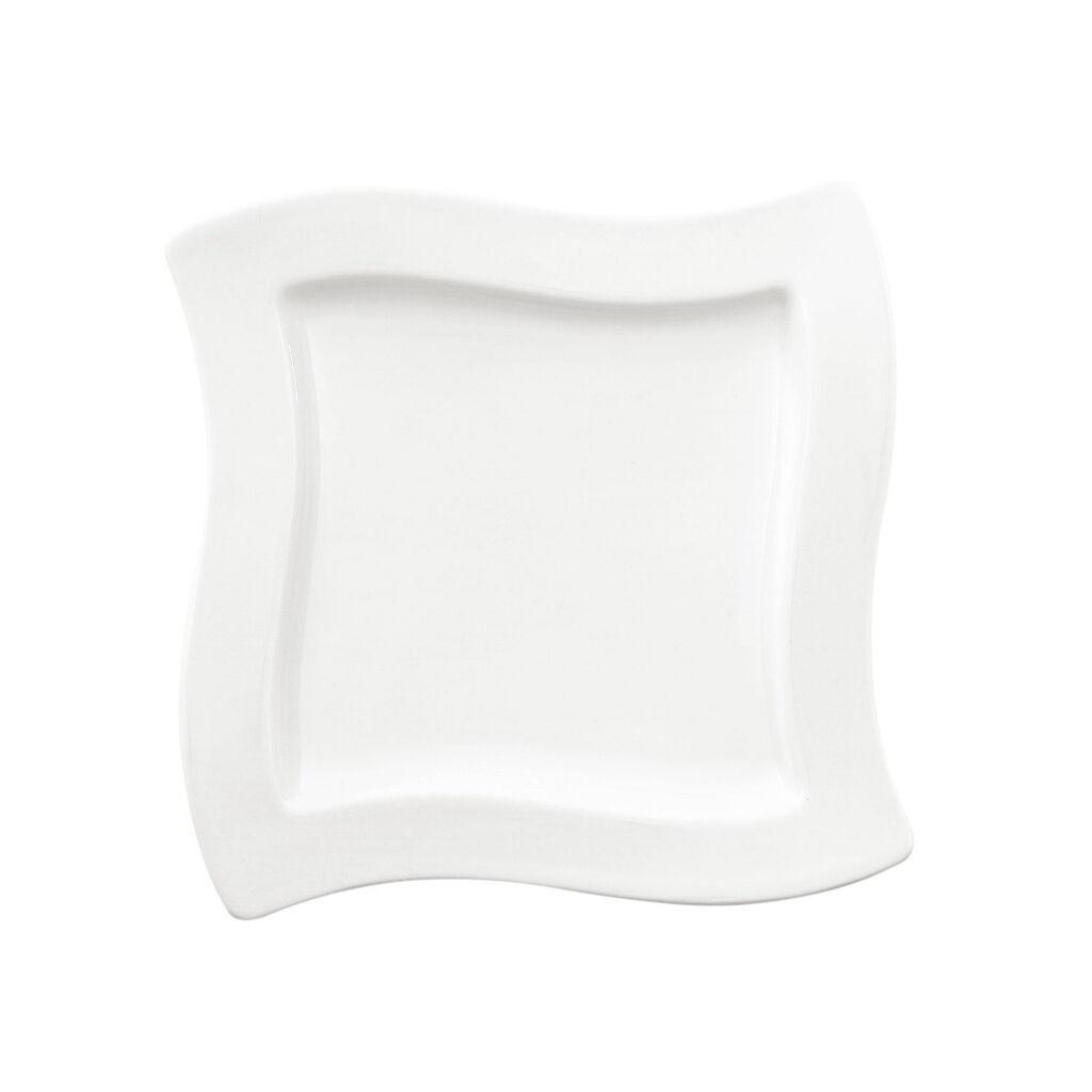 빌레로이 앤 보흐 뉴웨이브 스퀘어 샐러드 볼 Villeroy & Boch New Wave Square Salad Plate 9 1/4 x 9 1/4 in