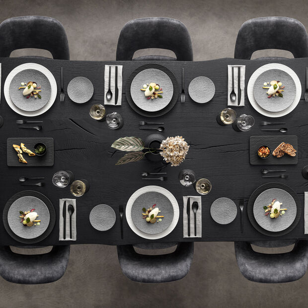 Manufacture Rock Granite Appetizer/Dessert Plate, , large