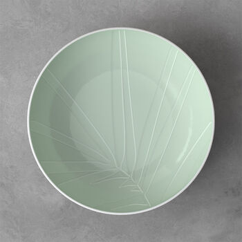 it's my match Mineral Serving Bowl: Leaf