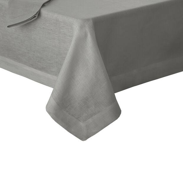 """La Classica Oblong Tablecloth: Grey, 70x126"""", , large"""