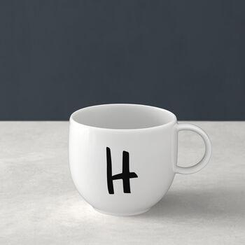 Letters Mug: H